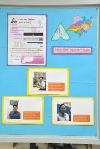 Health Aurasma of Selected Teachers