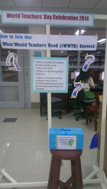 #What Would Teachers Read Contest