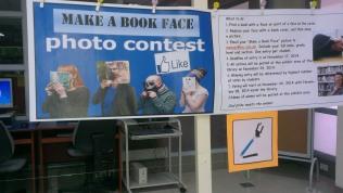 Make a Book Face Photo Contest