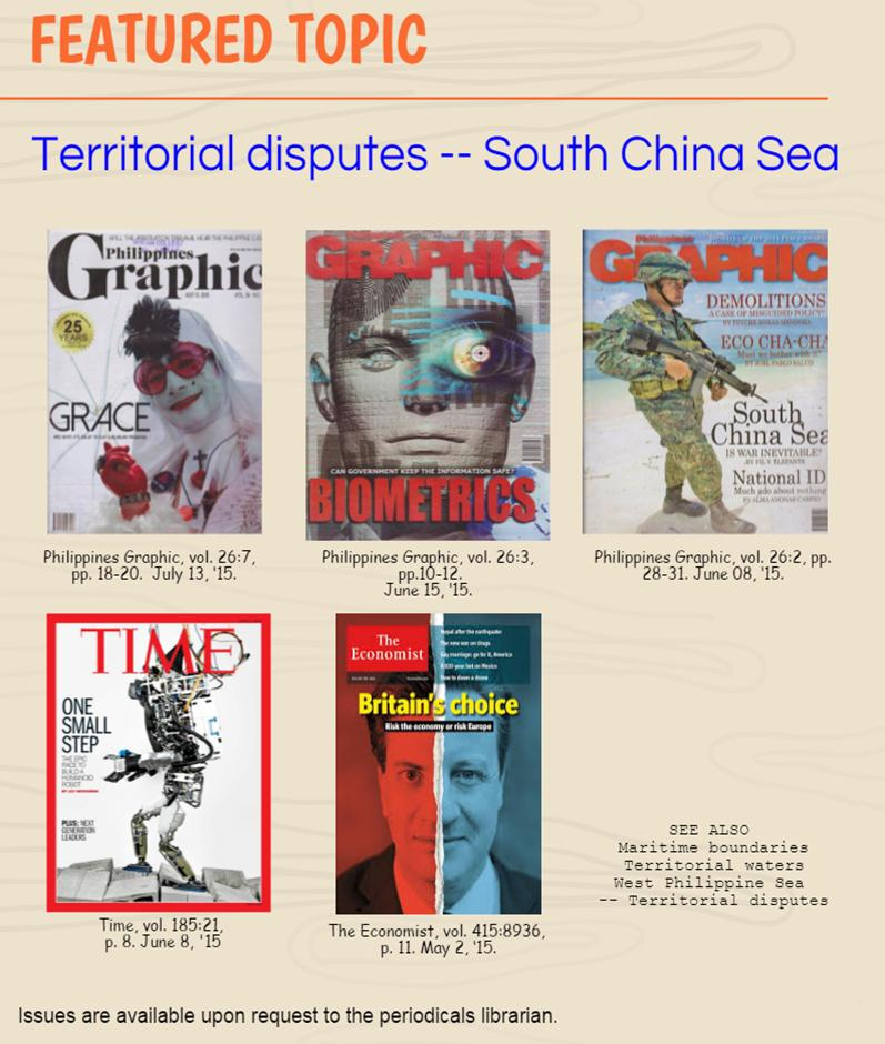 Almanacs Yearbooks: Featured Topic